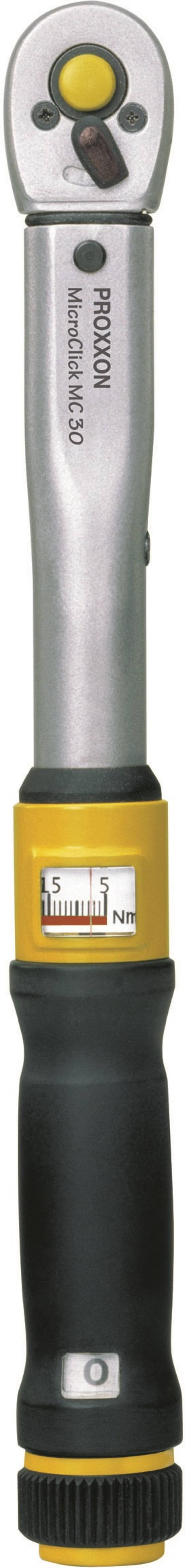 Proxxon Industrial MicroClick MC 30 23349 Momentsleutel met omschakelbare ratel 1 4 (6.3 mm) 6 - 30 Nm