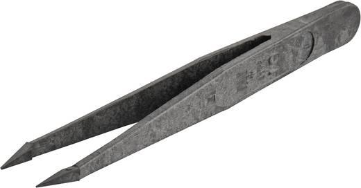 VOMM Kunststof pincet Uitvoering (algemeen) Extra fijne punt · Grijpvlakken glad · Nauwkeurig beetpakken Lengte 110 mm 5311