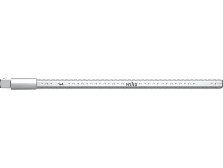 Wiha Verloopkling voor steeksleutelinzetstukken 1-4 System 6 Krachtafneempunt 4-kant Maat 6,3 mm (1-