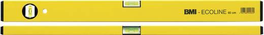 Metalen waterpas 80 cm BMI EcoLine 689080PGELB-ECO 1 mm/m Kalibratie: Zonder certificaat