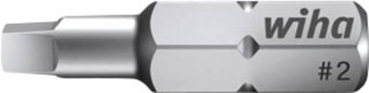 Vierkant-bit 1 Wiha Chroom-vanadium staal gehard C 6.3 1 stuks