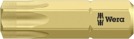 Torx-bit T 40 Wera 867/1 BDC TX40X25 Gereedschapsstaal gelegeerd, Diamant gecoat D 6.3 1 stuks