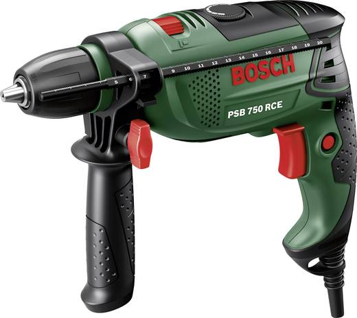 Bosch Home and Garden PSB 750 RCE Klopboormachine 750 W incl. koffer