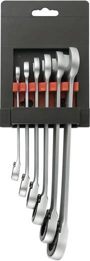 TOOLCRAFT 824124 Steek-/ratelsleutelset 6-delig 8 - 19 mm