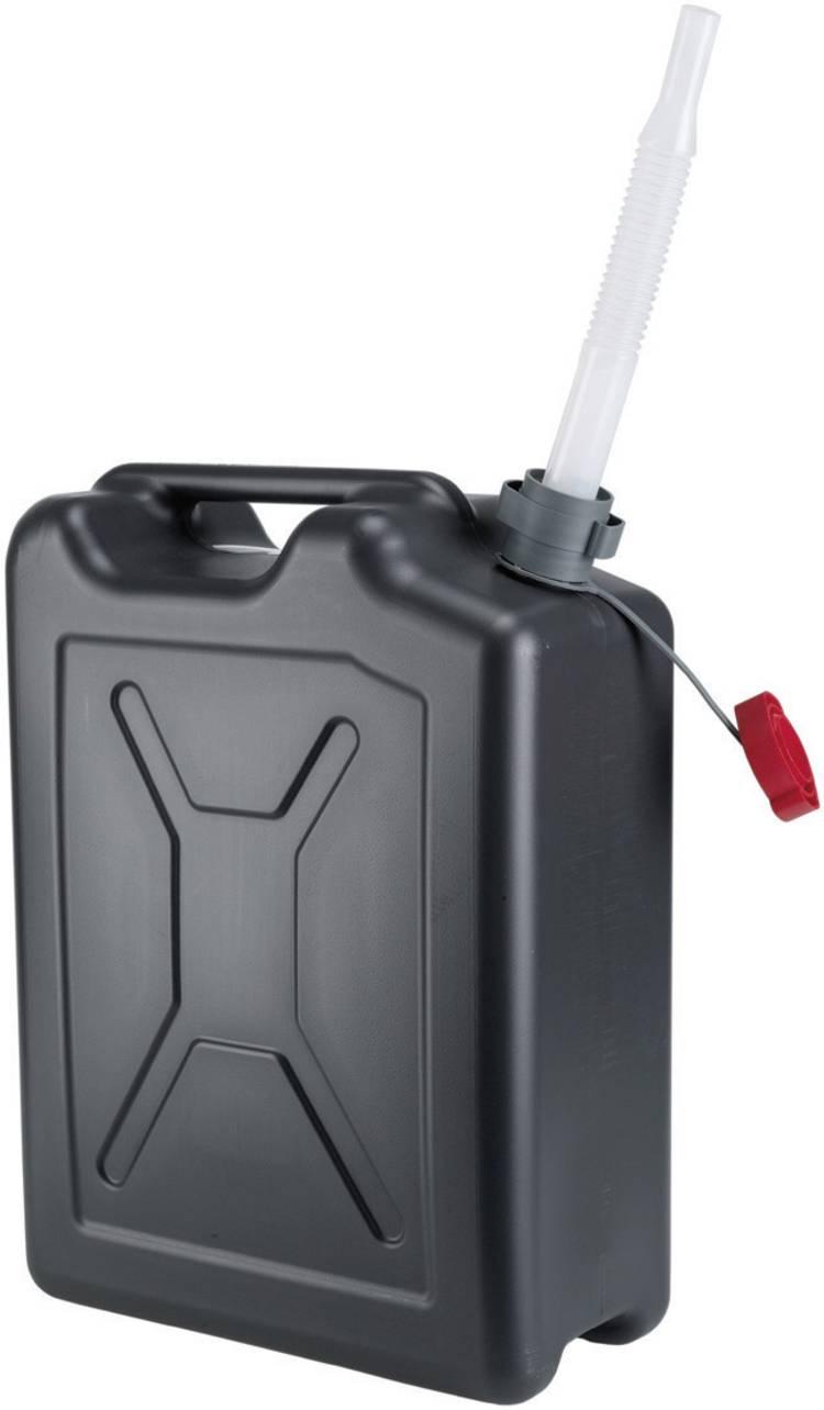 Jerrycan voor benzine Pressol 21 127 (l x b x h) 350 x 175 x 480 mm