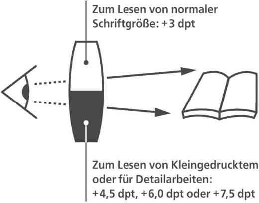 Eschenbach 2906036 Miniframe Bifo 3,0/6,0 dpt 2,5 x binnen loepbereik