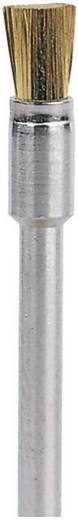 Dremel Messingborstel 3,2 mm Dremel 537 Ø 3.2 mm Schacht-Ø 3,2 mm 26150537JA 3 stuks