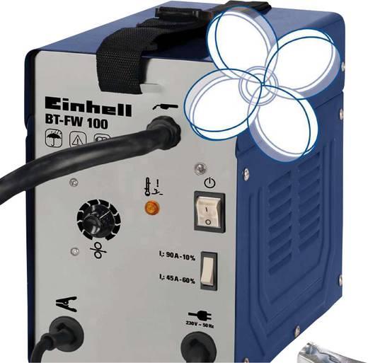 Einhell Vuldraadlasapparaat BT-FW 100 1575220 Voedingsspanning 230 V/50 Hz Lasstroom 45/90 A
