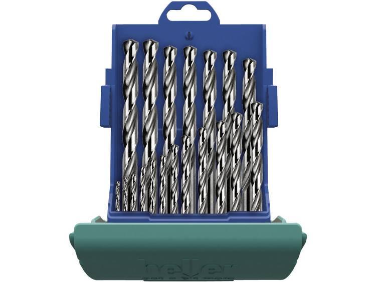 Heller 21964 8 HSS Metaal-spiraalboorset 25-delig geslepen DIN 338 Cilinderschacht 1 set