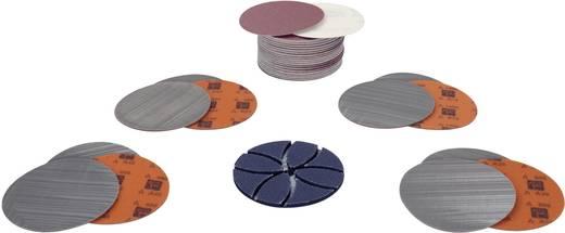 Roestvrij staal - set voor voorbereiding van polijsten van vlakken/buizen/profielen