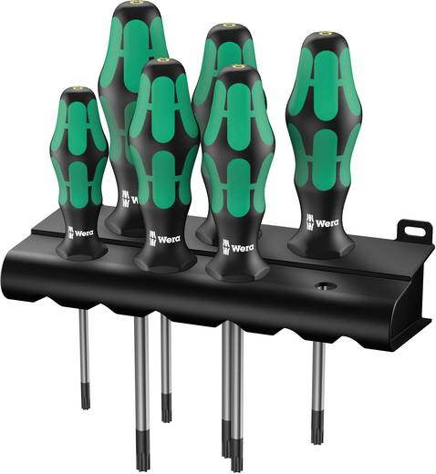 Wera 367/6 TORX® Werkplaats Schroevendraaierset 6-delig Torx