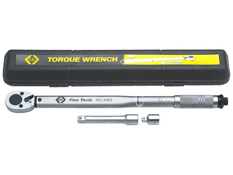 C.K. T4463 T4463 Momentsleutel met omschakelbare ratel 1 2 (12.5 mm) 42 210 Nm