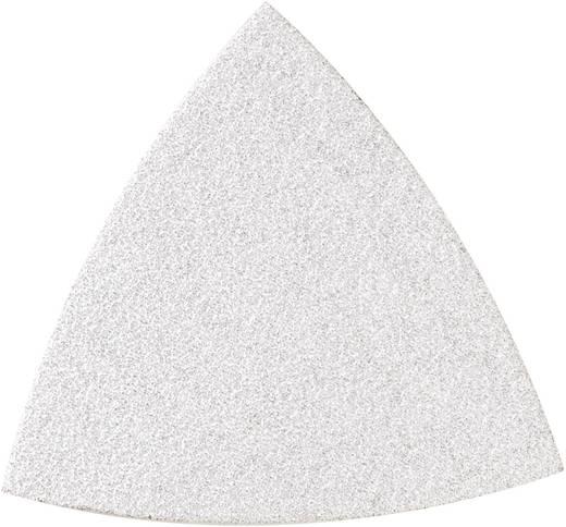 Delta schuurpapierset ongeperforeerd Korrelgrootte 80, 120, 240 Hoekmaat 80 mm Dremel 2615M70PJA 1 set