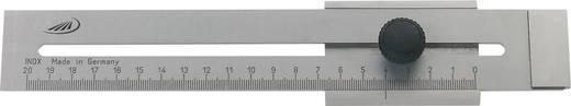 Schuifmaat 250 mm Helios Preisser 0321302 Materiaal Roestvrije staal mat Plat, met borgschroef