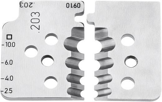 Bijpassend reservemes voor KNIPEX 12 12 10 inhoud 4 stuks Knipex 12 19 10
