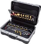 65-delige koffer voor elektronisch onderhoud PC-Contact met assortiment gereedschappen