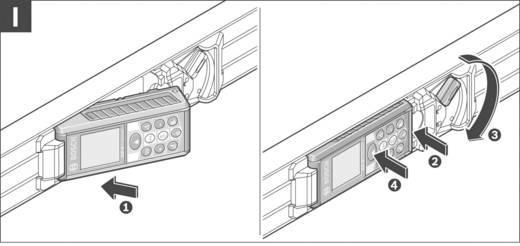 Laserafstandsmeter Bosch Professional GLM 80 + R 60 Li-Ion accu, Statiefadapter 6.3 mm (1/4 inch), Incl. meetrails Meetb