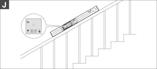 Bosch GLM 80 + R 60 Laserafstandsmeter Li-Ion accu, Statiefadapter 6.3 mm (1/4 inch), Incl. meetrails Meetbereik (max.)