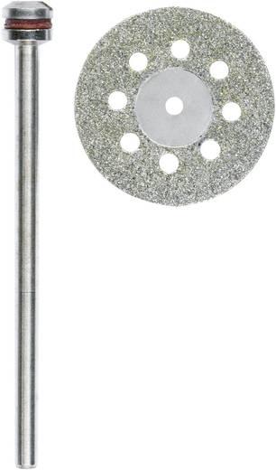 Proxxon Micromot 28 844 Doorslijpschijf diamantbezet Ø20 mm met koelgaten