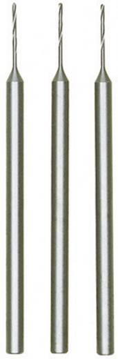 HSS micro-spiraalboor Proxxon Micromot 28 852 0.8 mm Lengte 44 mm 3 stuks Schacht-Ø 2,35 mm