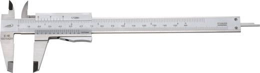 Helios Preisser TASCHENMEßSCHIEBER 0184 501 Zakschuifmaat 150 mm DIN 862