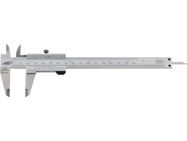 Schuifmaat Duo Fix 3 Helios Preisser 0185 501 Meetbereik(en) 150 mm