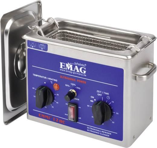 Ultrasoon reinigingsapparaat Emmi-12 1.2 l 200 x 100 x 65 mm Reinigingsduur 1 - 60 min. Emag 12 HC