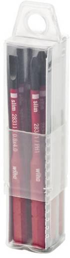 Wiha SoftFinish electric VDE Plat, Kruiskop Phillips Verwisselbare blad 3 mm, 4 mm, 5.5 mm PH 1, PH 2 6 mm 75 mm Gesch