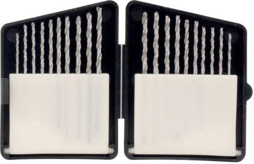HSS225 HSS Metaal-spiraalboorset 20-delig 1.3 mm, 1.4 mm, 1.5 mm, 1.6 mm, 1.8 mm, 2 mm, 2.2 mm, 2.3 mm, 2.4 mm, 2.5 mm
