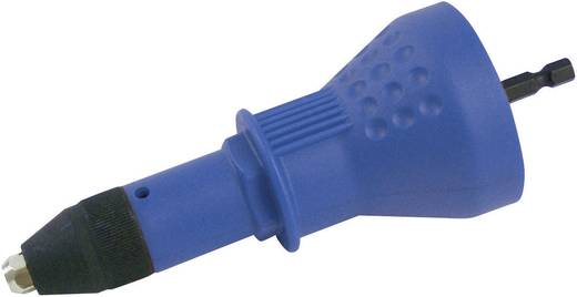 Popnagelinrichting,popnagelhulpstuk,Popnagelhulpstuk voor accuschroevendraaier of boormachine, vervangt een popnageltang