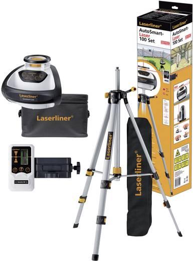 Automatische rotatielaser AutoSmart-Laser 100 set Laserliner 055.04.00A + statief, ontvanger en tas