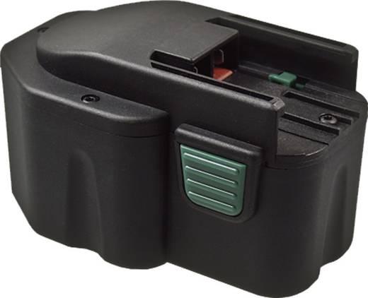 Reserve accupacks voor in de werkplaats, voor accu schroef-/boormachines en accu knikschroefmachines etc.