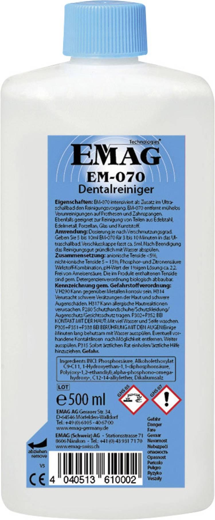 Emag EM070 Reinigingsconcentraat Tandheelkunde 500 ml