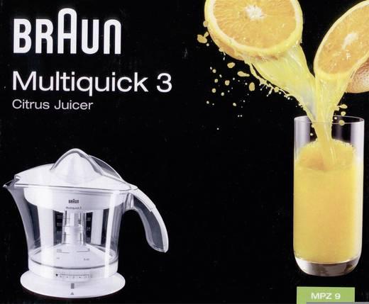 Braun Multiquick 3 MPZ9 Citruspers 20 W Wit