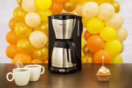 Koffiezetapparaat Philips Gaia Therm RVS, Zwart Capaciteit koppen=15 Thermoskan