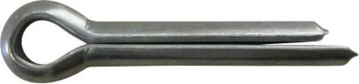 TOOLCRAFT Splitpen DIN 94 DIN 94 16 mm Staal verzinkt. 50 stuks