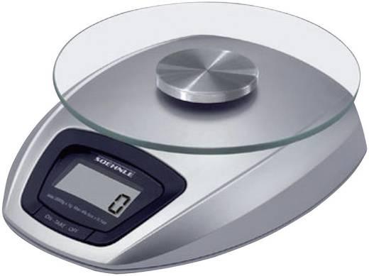Soehnle 65840 Siena digitale keukenweegschaal zilver
