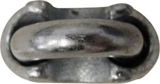 TOOLCRAFT 827907 Staaldraadklem 3 mm M4 Staal verzinkt 10 stuks