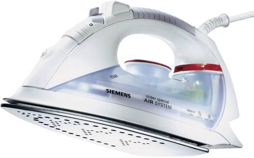 Siemens Slider Special Stoomstrijkijzer Wit, Blauw 2400 W