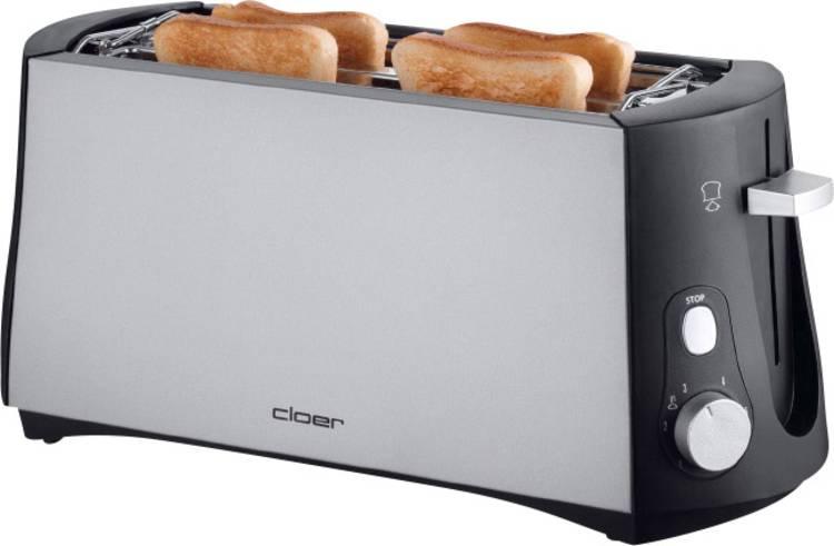 Image of Cloer Toaster 3710 Broodrooster met dubbele lange sleuf