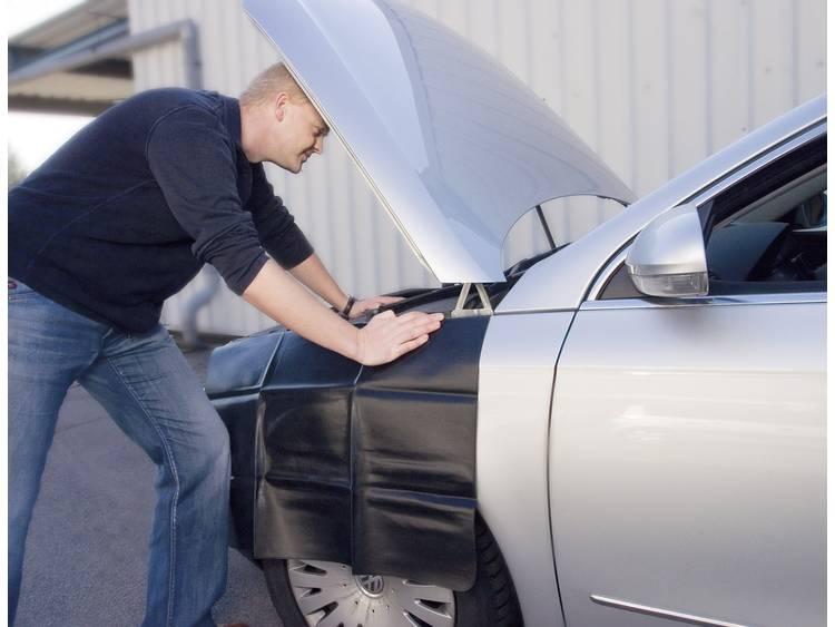 Onderhoudbeschermkleed beschermt uw auto
