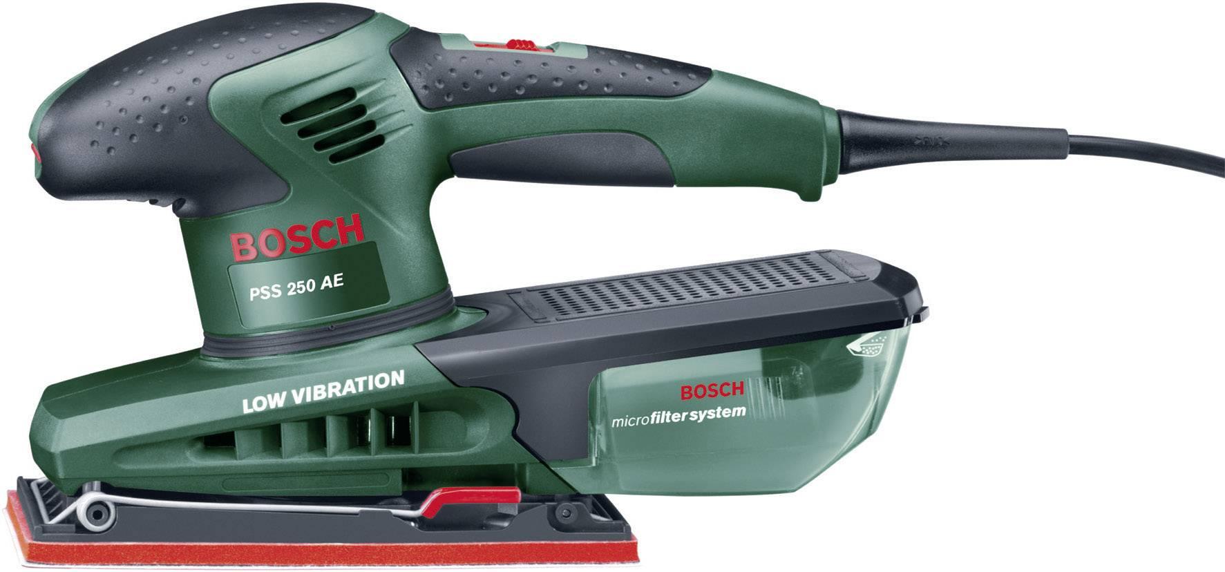Voorkeur Bosch Home and Garden PSS 250 AE Vlakschuurmachine | Conrad.be OF04