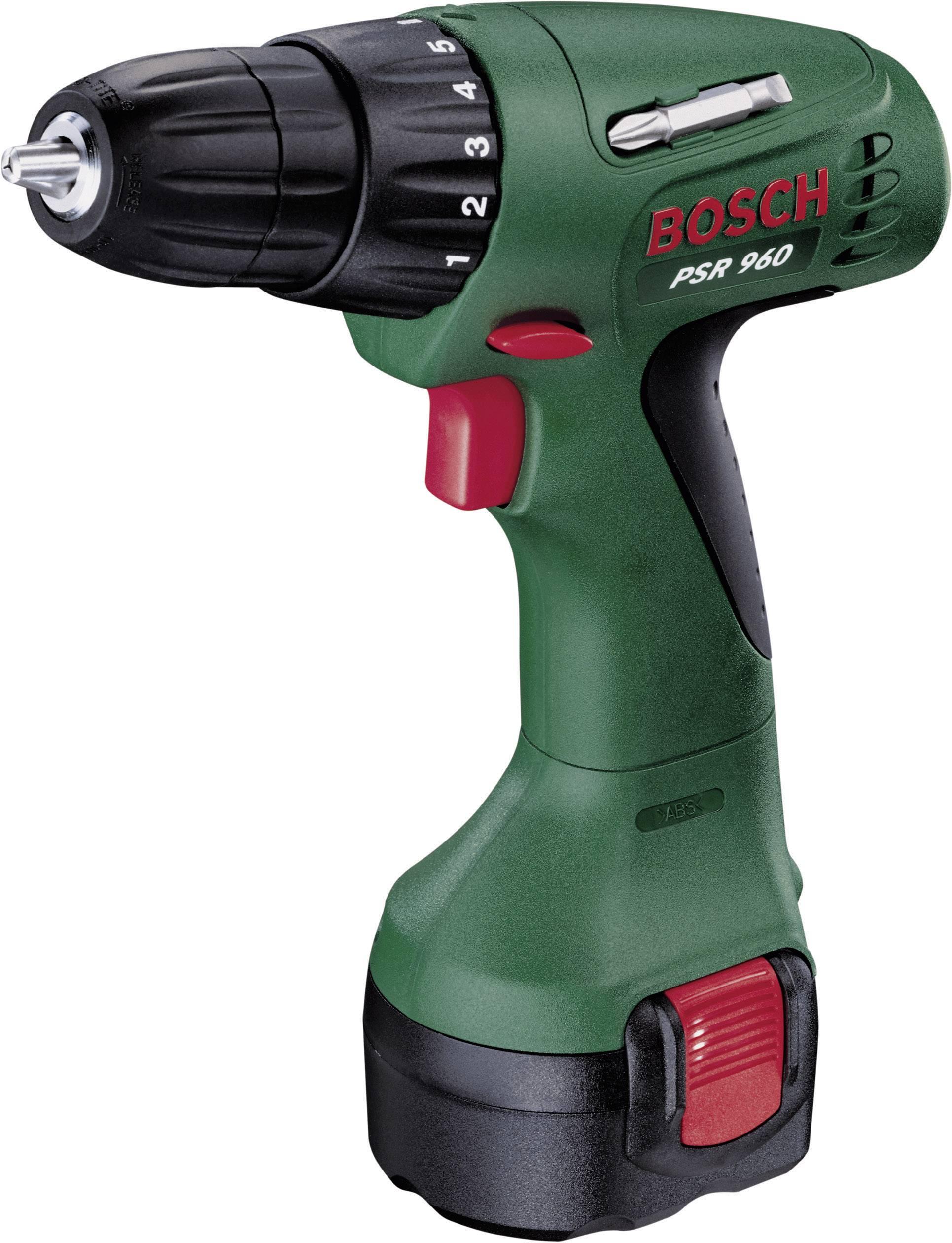 Top Bosch PSR 960 Accuschroefboormachine incl. accu, incl. koffer IK42
