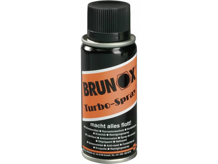 Multifunctionele spray 100 ml Brunox TURBO SPRAY BR0,10TS