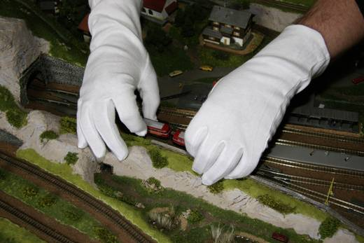 worky 1001 Tricot handschoenen 100% katoentricot Maat 8