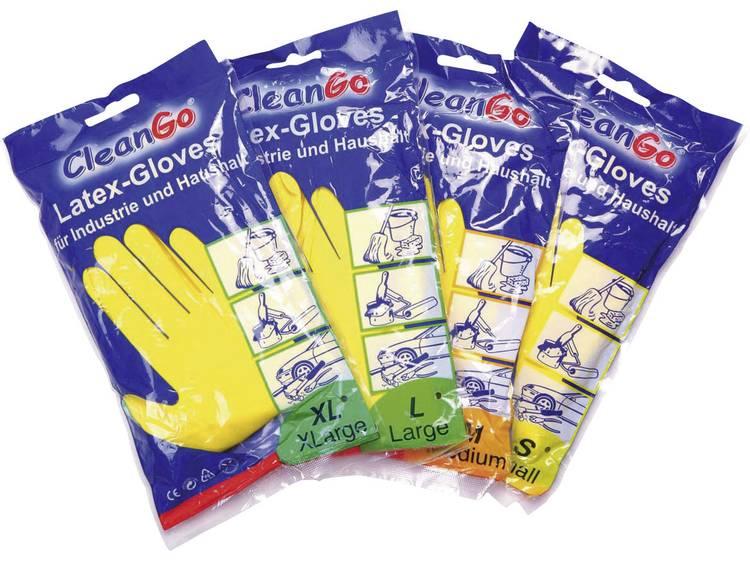 CleanGo 1460 Industrie--huishoudhandschoen Natuurlatex