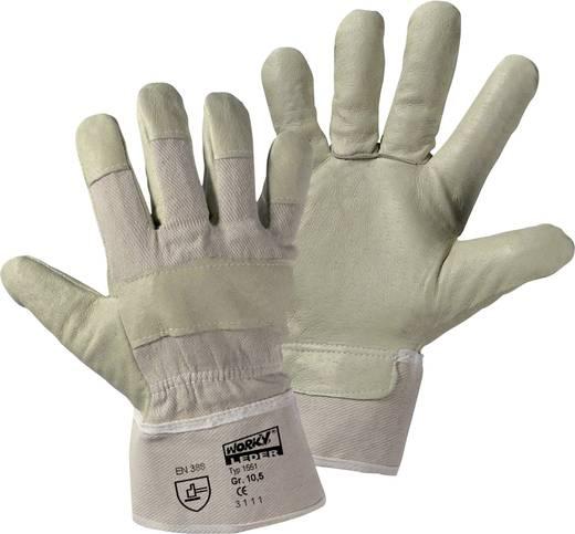 worky 1551 Handschoen van varkensnerfleer Varkensnerfleer Maat (handschoen): 10.5, XL