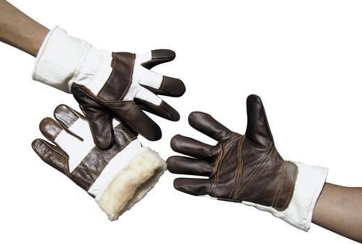 Gepolsterde handschoen van nerfleer