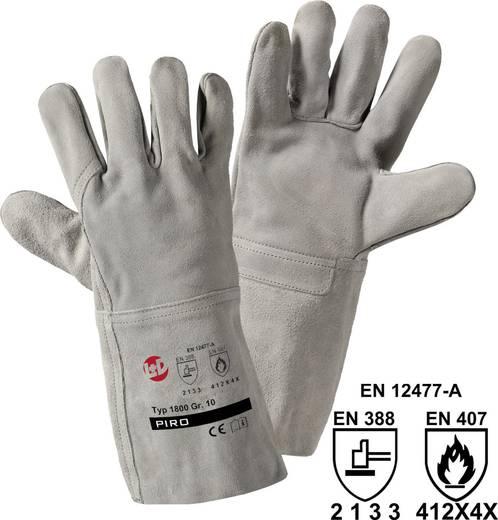 worky 1800 Handschoen splits Rundsplitsleer Maat (handschoen): 10, XL