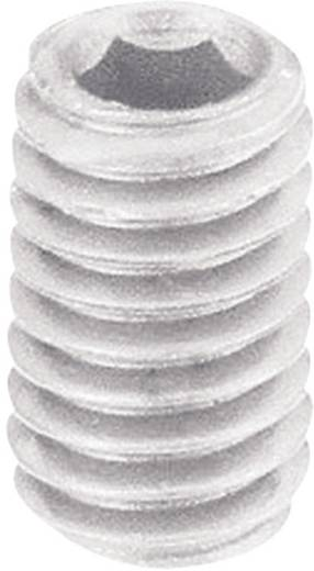 TOOLCRAFT 830386 Draadpen M6 10 mm Polyamide 10 stuks